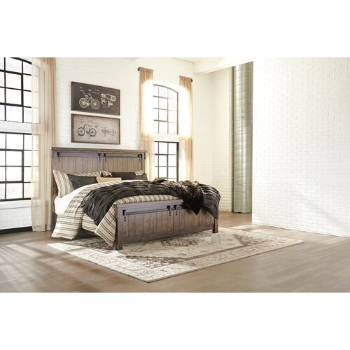 Lakeleigh - Brown 3 Piece Bed (King)