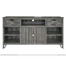 "80"" TV Stand w/ 2 Drawer, 2 Doors & 5 Shelves"