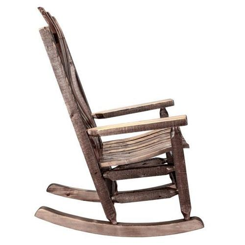 Montana Woodworks - Homestead Collection Rocking Chair, Stain and Lacquer Finish