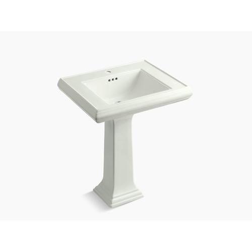 """Dune Classic 27"""" Pedestal Bathroom Sink With Single Faucet Hole"""