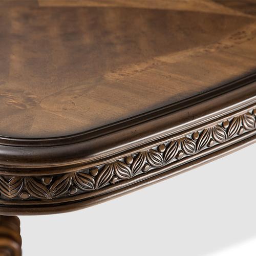 Amini - Rectangular Pedestal Dining Table (2 Pc)