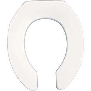 Plastic Round Toilet Seat Product Image