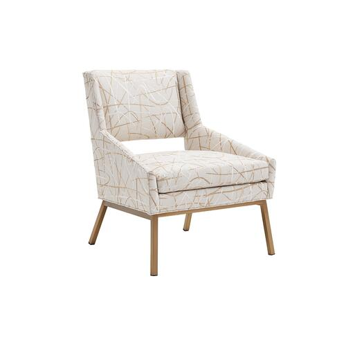 Lexington Furniture - Amani Chair With Bright Brass Base