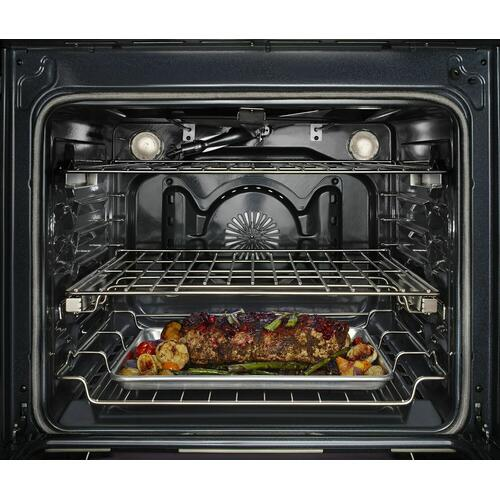 KitchenAid Canada - KitchenAid® 30-Inch 5-Burner Dual Fuel Convection Front Control Range with Baking Drawer - Stainless Steel