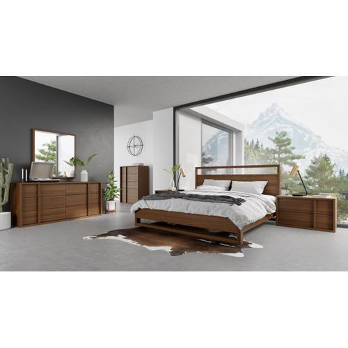 VIG Furniture - Nova Domus Berlin - Modern Walnut Bed