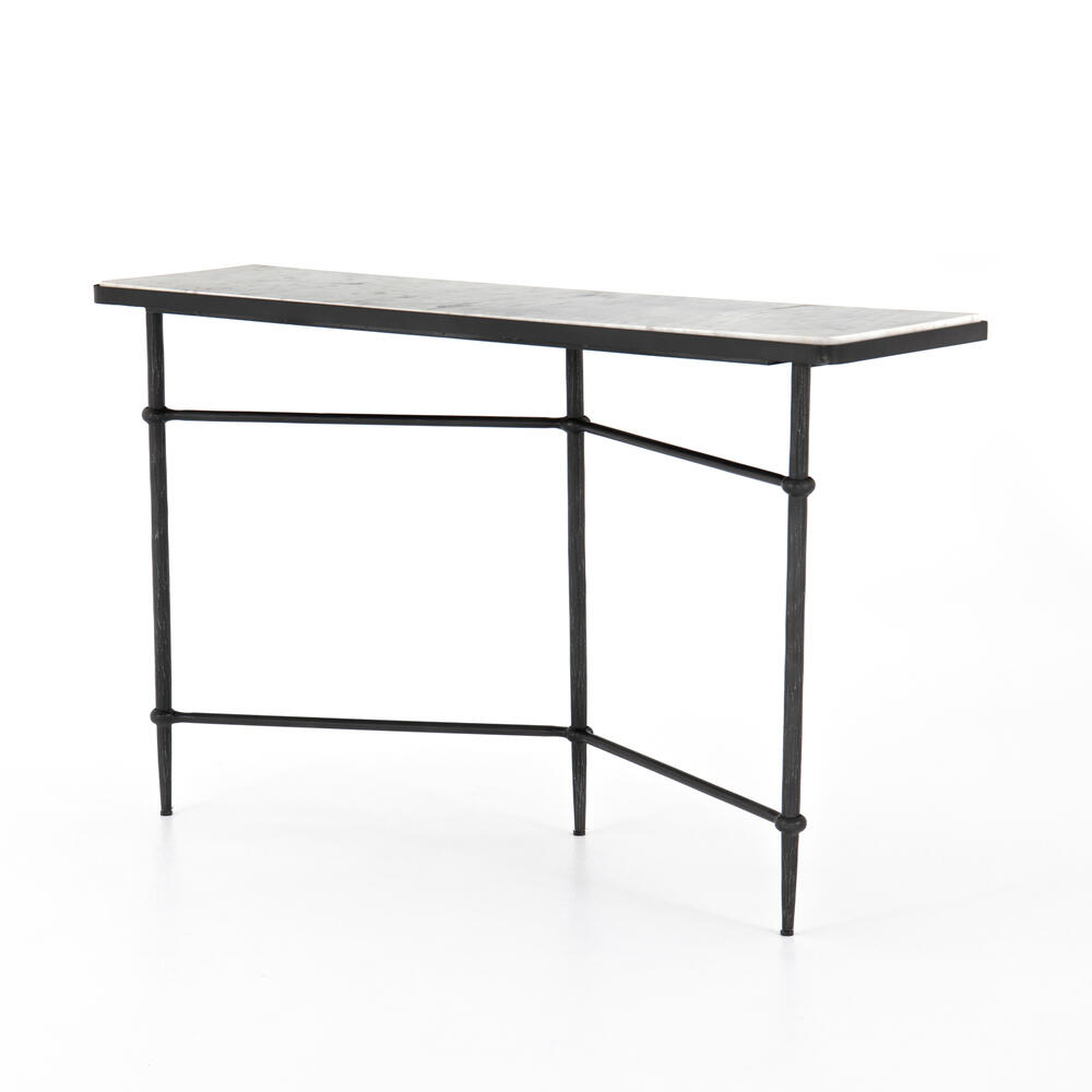 Kierland Console Table-black Natural