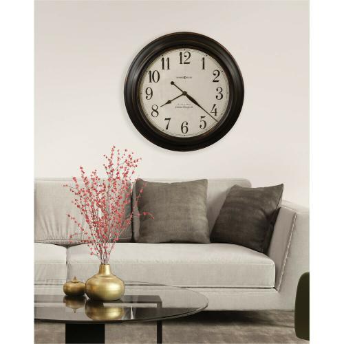 Howard Miller Ashby Oversized Antique Wall Clock 625648