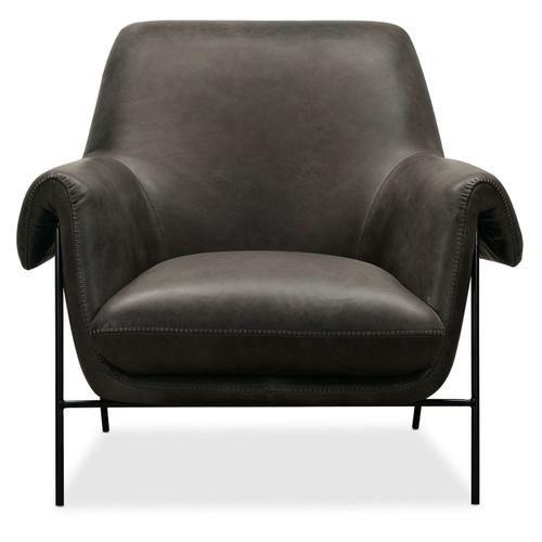 Living Room Ambroise Metal Frame Club Chair