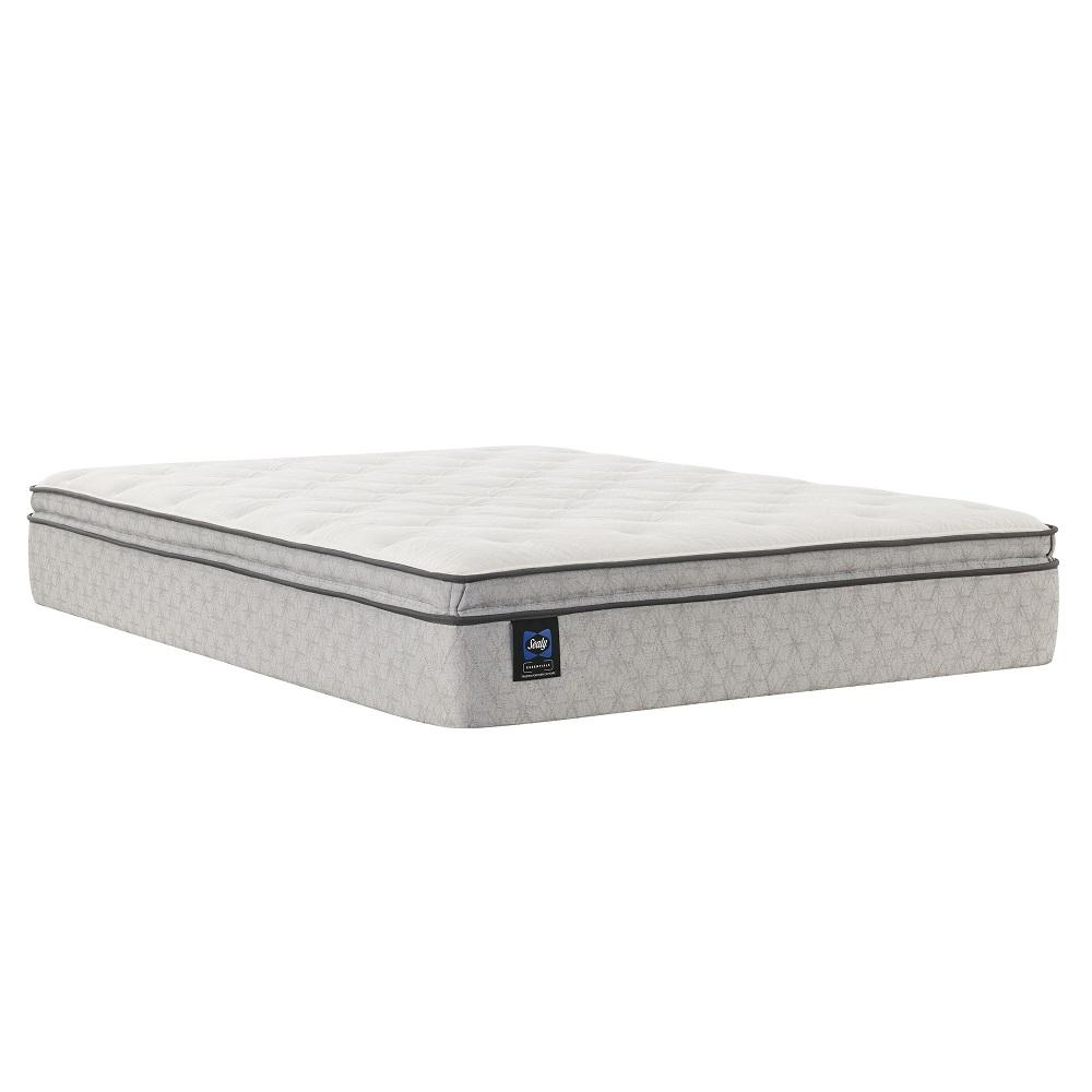 See Details - Deaton II - Euro Pillow Top - Soft - Queen