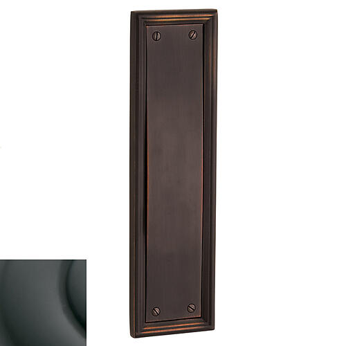Oil-Rubbed Bronze Nashville Push Plate