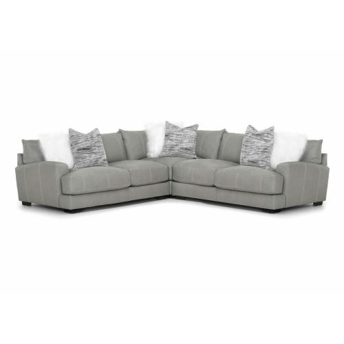 909 Antonia Leather Sectional