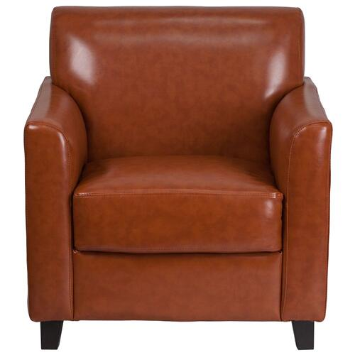 Cognac Leather Chair