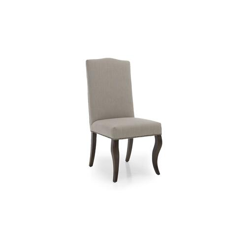 Gesua Chair Fabric Grey 2-pack
