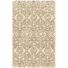 See Details - Aspire Wool Kindle Ivory/black2x3