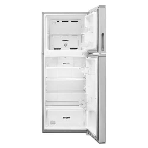 Whirlpool - 24-inch Wide Top-Freezer Refrigerator - 11.6 cu. ft. Fingerprint-Resistant Stainless Finish