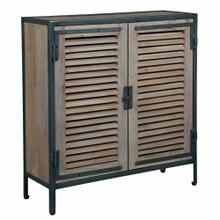 See Details - 2-8197 Louvered Door Chest