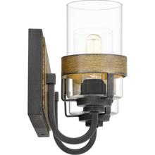 View Product - Finch Bath Light in Aged Walnut