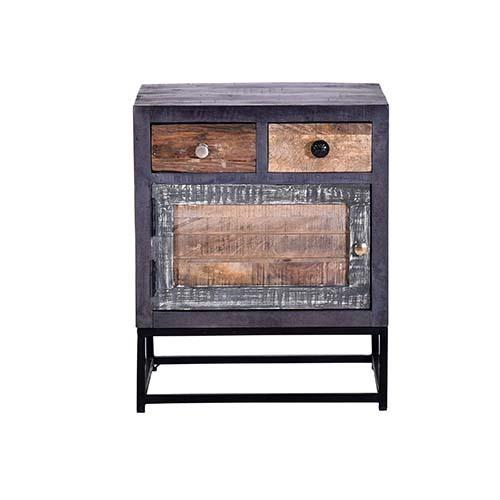 Progressive Furniture - Nightstand - Multi/Iron Finish