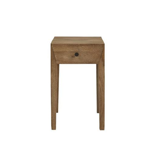 Accent Side Table - Cinnamon Finish