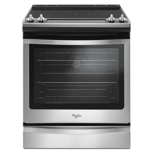 Whirlpool Canada - 6.4 Cu. Ft. Front Control Electric Range with True Convection