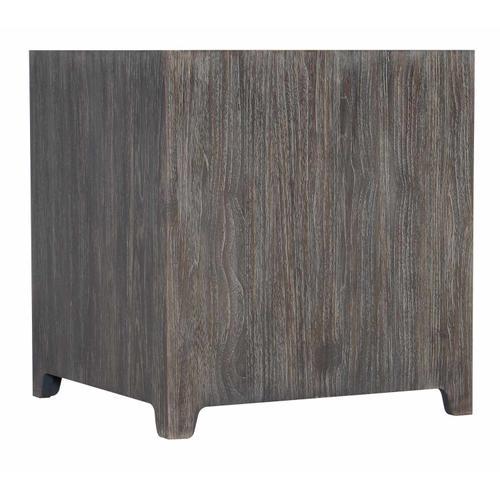 Bernhardt - Leeward Side Table in Smoked Truffle