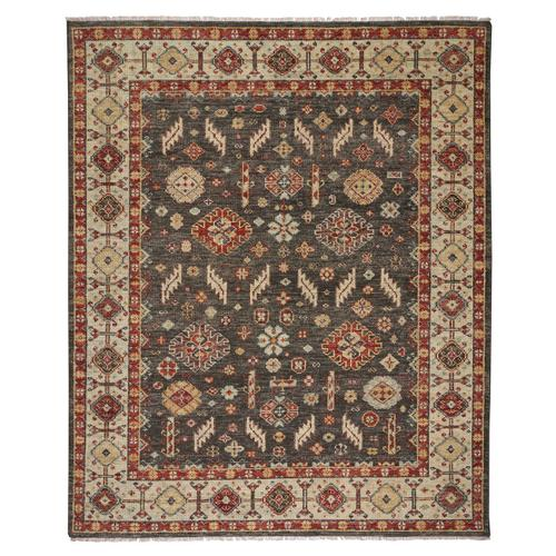 Charise-Mahal Dark Chocolate Hand Knotted Rugs (Custom)