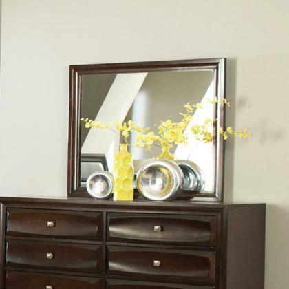See Details - Jaxson Transitional Cappuccino Dresser Mirror