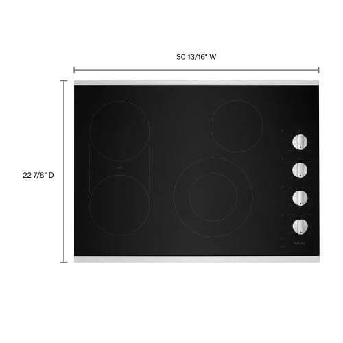 Maytag Canada - 30-Inch Electric Cooktop with Reversible Grill and Griddle