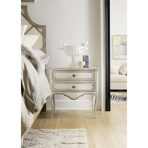 Bedroom Sanctuary Coco En Blanc Nightstand