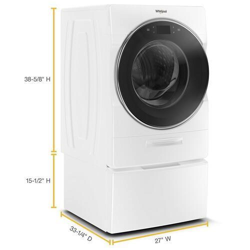 Whirlpool Canada - 5.8 cu. ft. I.E.C. Smart Front Load Washer with Load & Go XL Plus Dispenser