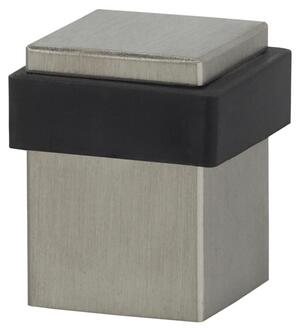 Modern Square Floor Door Stop in (Modern Square Floor Door Stop - Solid Stainless Steel) Product Image