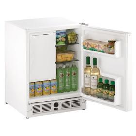 "21"" Refrigerator/ice Maker With White Solid Finish (115 V/60 Hz Volts /60 Hz Hz)"