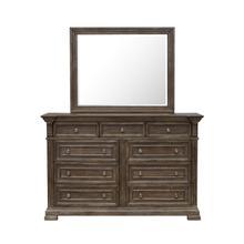 See Details - Arlington Mirror in Brown