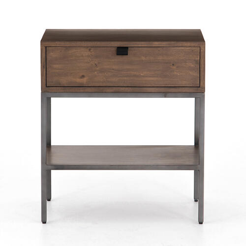 Auburn Poplar Finish Trey Nightstand