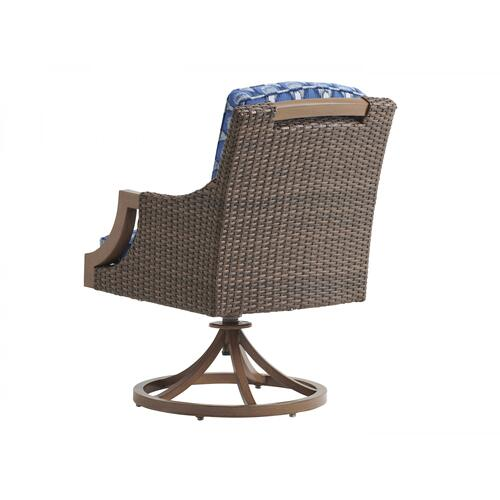 Swivel Rocker Arm Dining Chair