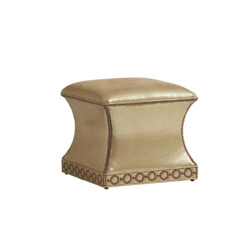 Merino Leather Ottoman