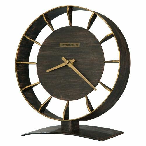 Howard Miller - Howard Miller Rey Metal Mantel Clock 635218