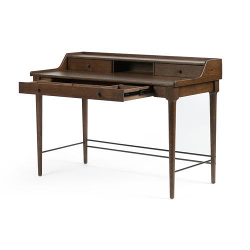 Moreau Writing Desk-dark Toasted Oak