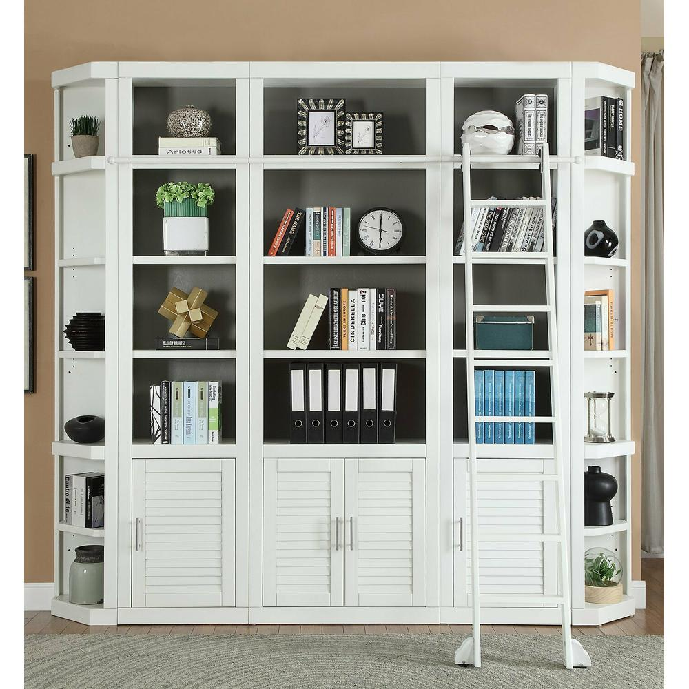 See Details - CATALINA 6 Piece Library Wall with Ladder