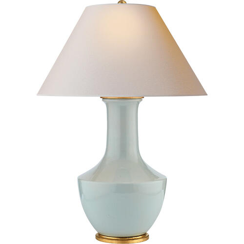 Visual Comfort - E. F. Chapman Lambay 32 inch 100.00 watt Ice Blue Porcelain Table Lamp Portable Light