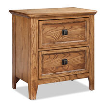 Alta 2 drawer nightstand