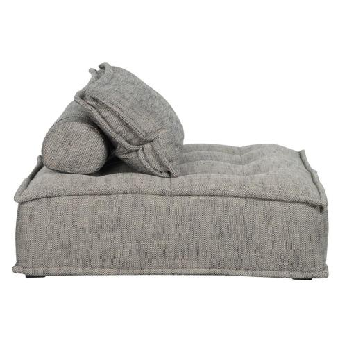 Element Square Lounge Chair Gray
