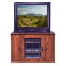 See Details - Forest Designs Mission Oak TV Stand with Media Storage: 43W x 30H x 21D - 43w