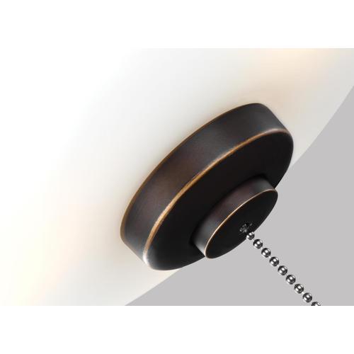3 - Light LED Light Kit - Roman Bronze