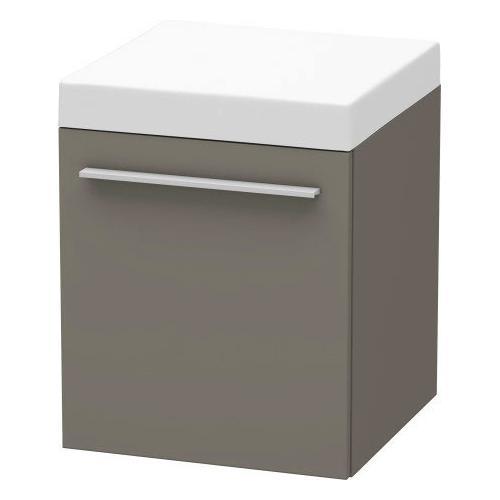 Mobile Storage Unit, Flannel Gray Satin Matte (lacquer)