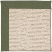 Creative Concepts-White Wicker Canvas Fern