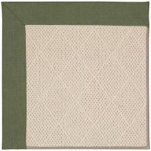 "Creative Concepts-White Wicker Canvas Fern - Rectangle - 24"" x 36"""