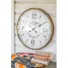 See Details - old town station clock