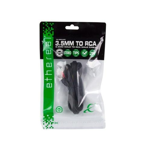 Metra Home Theater - 3.5mm to Composite (RCA) Cable - 2 Meters