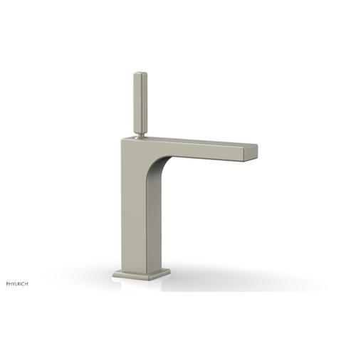 MIX Single Hole Lavatory Faucet, Blade Handle 290-06 - Burnished Nickel
